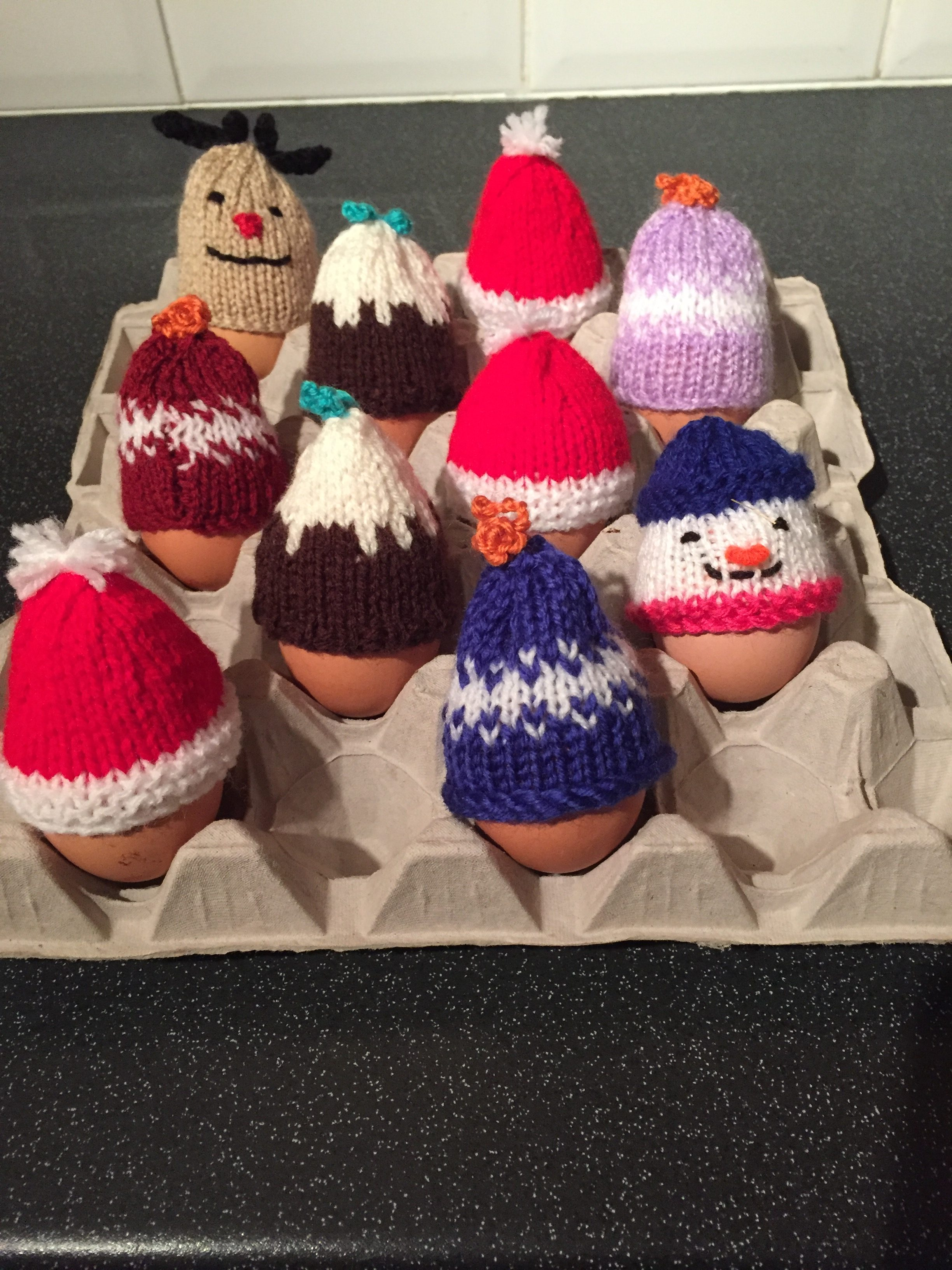 Novelty Hand Knitted Egg Hats - Jolly Good Eggs a9c897f96f2