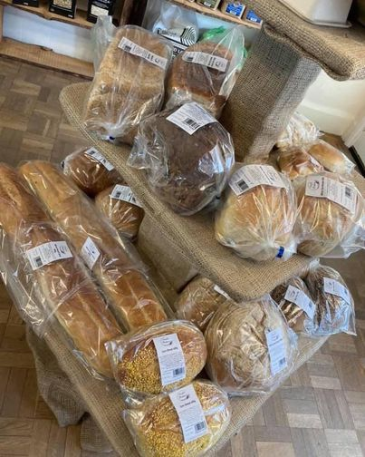 🎂🍪 THE JOLLY GOOD PANTRY 🍞🥚 We will be open tomorrow 8 till 5. Fully stocked with fresh bread from Swift's, Russell'...