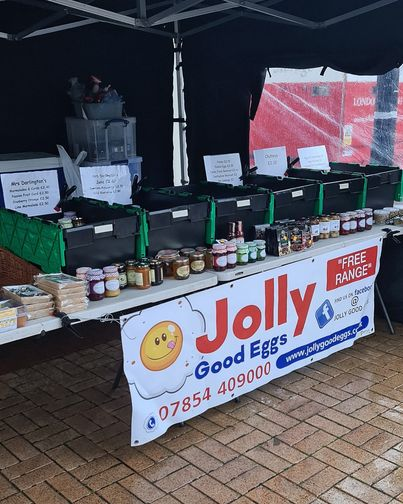 <div>Morning campers, all set up at Madeley this morning, I know it's a wee bit damp outside but pop along and say hello 😀😀...</div>