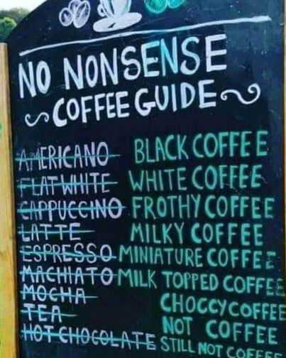 Thought this picture was quite funny 🤣 Pop in to Pantry for a no nonsense hot drink and pastry to go for only £2.60 👍�...